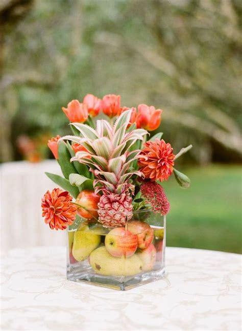 arreglos para bodas ideas de florales frutales y con 9 centros de mesa para bodas con frutas