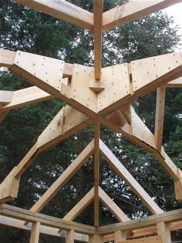 framing  modified pyramid roof  trusses general