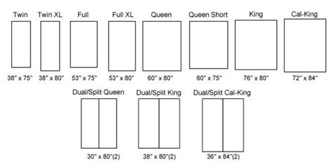 Standard Bed Frame Sizes Mattress Dimensions Vs Xl Jpg 665 215 330 Spec Xl Search And