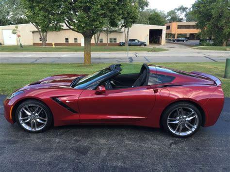 2014 corvette stingray stats find used 2014 chevrolet corvette z51 stingray in wapella