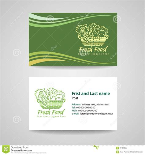 green id card design background business card green background stock vector image 70487655