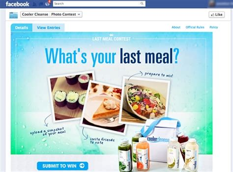Sweepstake Facebook - facebook photo contest marketing
