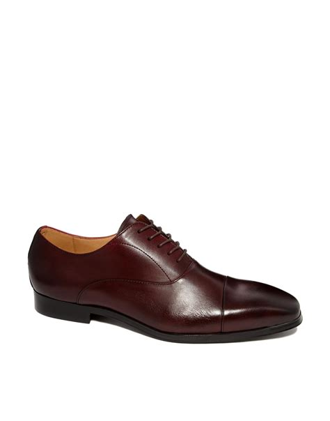 leather oxford shoes aldo mesnier leather oxford shoes in for lyst