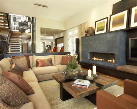 contemporary family room furniture suburban meets urban contemporary family room by