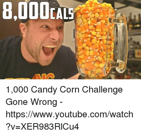 Candy Corn Meme - ial5 1000 candy corn challenge gone wrong