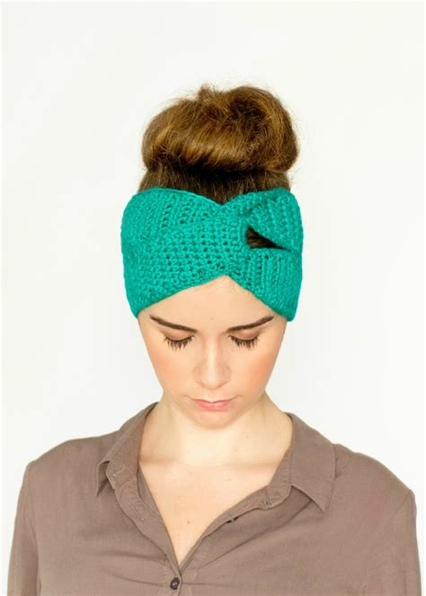 how to knit a headband with a twist crochet archives