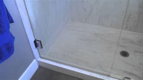 signature surfaces custom corian seamless mold free shower