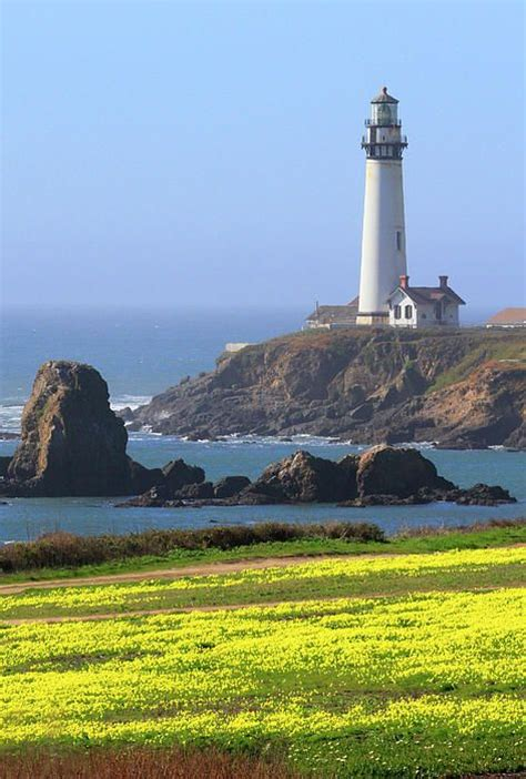 pigeon point lighthouse ca great place  hike beautiful scenery   san francisco