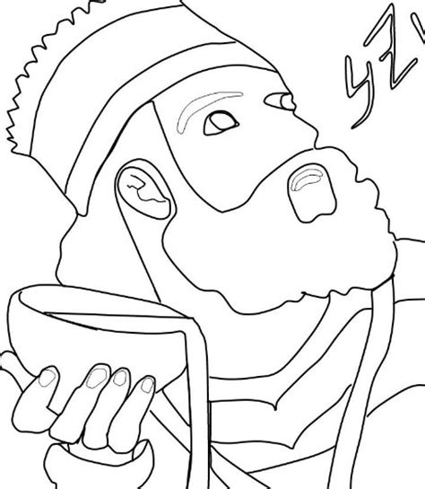 king belshazzar coloring pages how to draw belshazzar