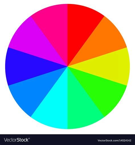 wheel of fortune template template wheel fortune color palette royalty free vector