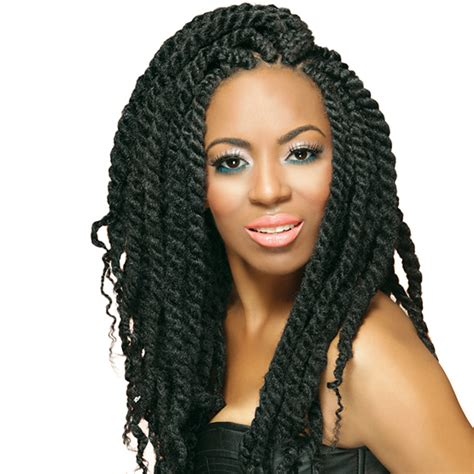 Afro Twist Braid Premium Synthetic Hairstyles For Women Over 50 | afro twist braid premium synthetic hairstyles for women