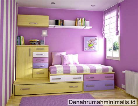 desain warna cat dinding kamar desain kamar perempuan gambar c