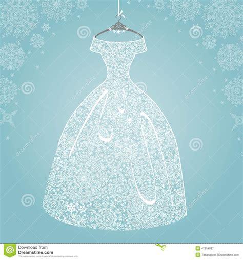 bridal shower background bridal dress wedding snowflake lace stock photo image