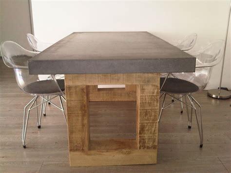 beton tafelblad betonnen tafelblad