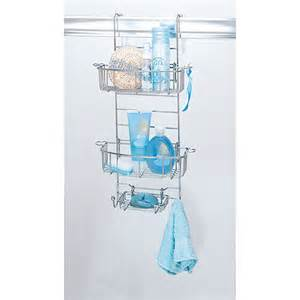 hanging bathroom shower caddy chrome walmart