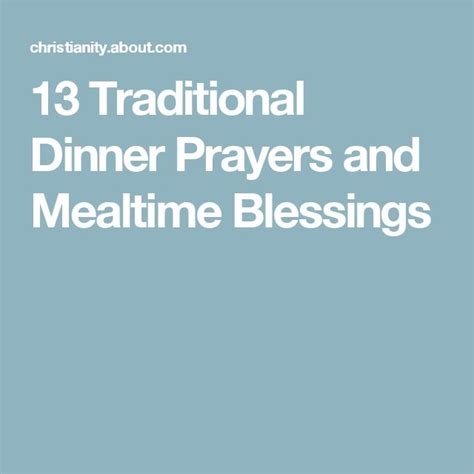 Wedding Blessing Prayer Dinner by 40 Best Table Blessings And Mealtime Prayers Images On