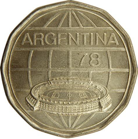 100 pesos coupe du monde de football argentine 1978