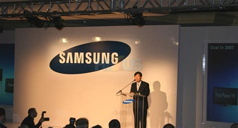 Samsung Unveils At Ces 2007 by Samsung Ces 2007 Press Conference Lcd Tvs Audio Visual