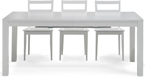 tavoli bianchi moderni vendita tavoli moderni in legno di faggio laccato bianco