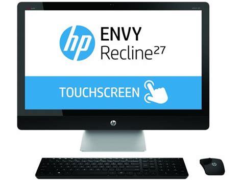 hp envy recline specs hp envy recline 27 quot intel i7 aio desktop