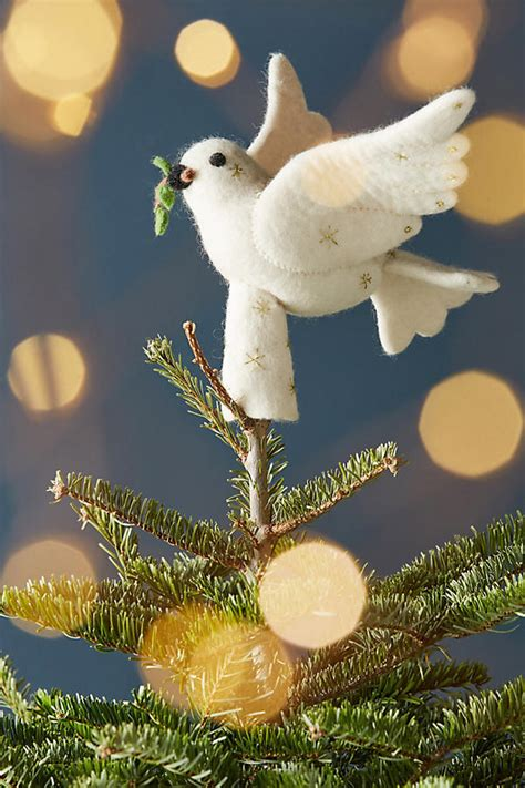 dove christmas tree topper 20 unique tree toppers tree decorations