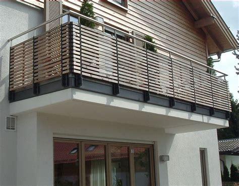 balkone aus holz preise m ller balkone wartungsfrei hpl - Stiegengeländer Holz Preise