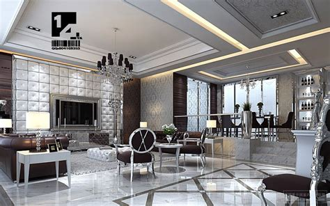 Silver Room Decor Modern Interior Design