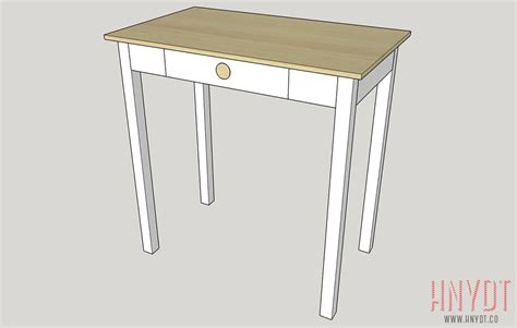 Build A Small Space Desk Diywithrick Build A Small Desk