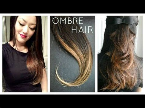 25 best ideas about ombre hair at home on