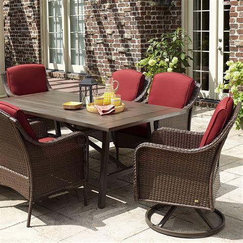Patio Furniture La Z Boy La Z Boy Madeline 7 Dining Set Limited