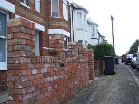 Reclaimed Brick Garden Walls Ctpbuilders 100 Feedback Bricklayer Extension Builder