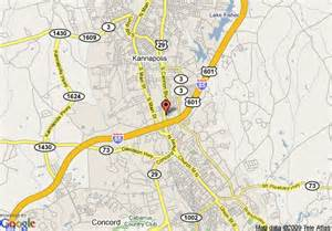 map of concord carolina map of microtel inn and suites concord