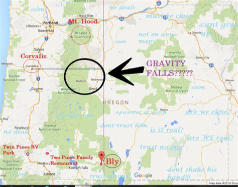 map of oregon gravity falls durinsdottir gravity falls