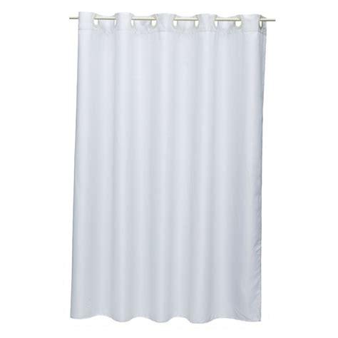 bathroom with shower curtain hyde park hookless shower curtain