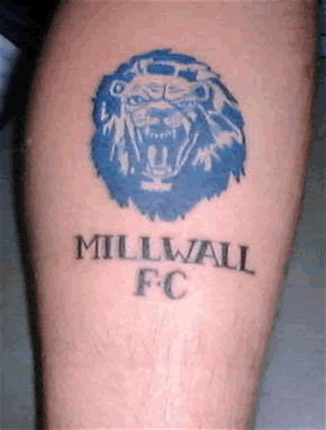 millwall tattoo designs millwall fc football club football club tetov 225 n 237