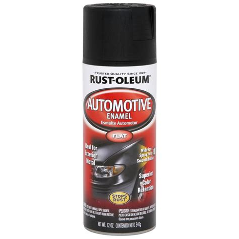 home depot car touch up paint rust oleum automotive 12 oz matte finish spray paint