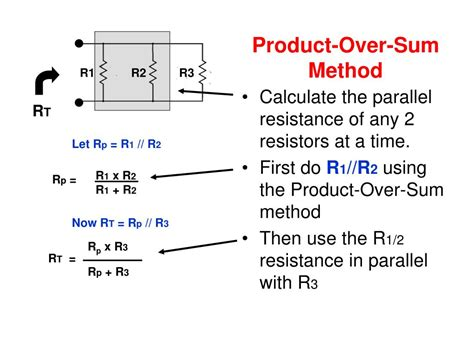 sum of 2 resistors in parallel resistors in parallel product sum 28 images electric currents and resistance ppt for
