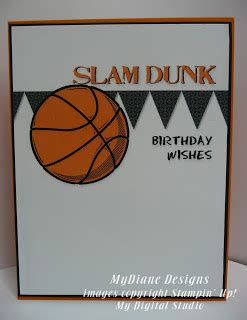 printable birthday cards basketball mydiane designs slam dunk birthday fcc7