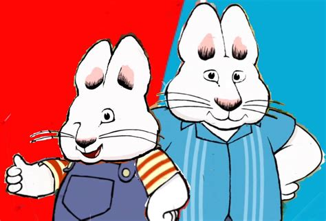Maxy Rabbit max and his mr bunny max and ruby s vec by