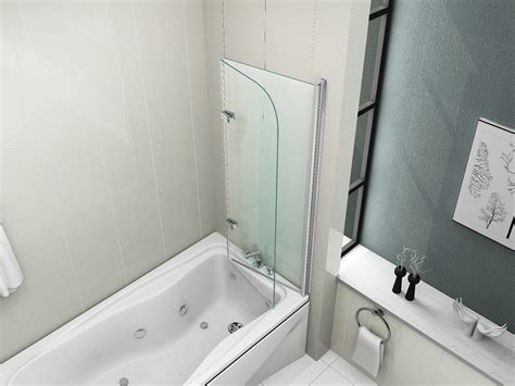 Bathroom Shower Screen Seals 180 176 Pivot Glass Bath 2 Fold Folding Shower Screen Bath Door Panel Seal Ebay