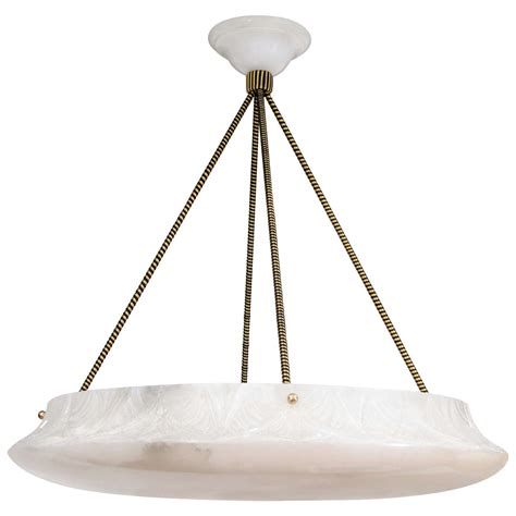 Alabaster Lighting Fixtures An Alabaster Light Fixture At 1stdibs