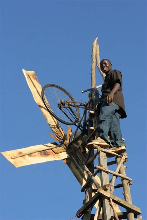Handmade Windmill - william kamkwamba author quot the boy who harnessed the wind