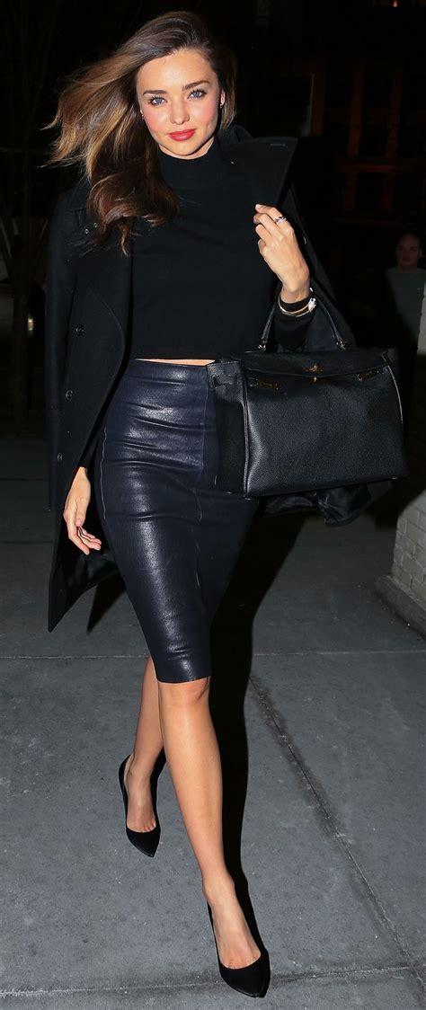 leather skirt ideas fashion inspo