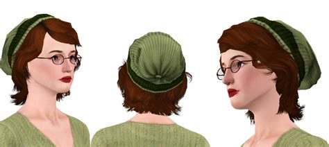 sims 3 university life hair my sims 3 blog university life quot beanie quot hairstyle for all
