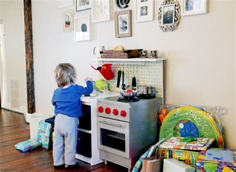 """Ethan's """"Manly"""" DIY Play Kitchen"""
