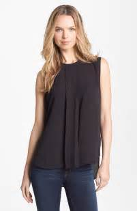 sleeveless pleated blouse women s lace blouses