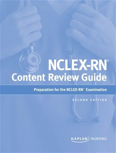 nclex rn content review guide kaplan test prep kaplan nclex content review guide book review mcatforme
