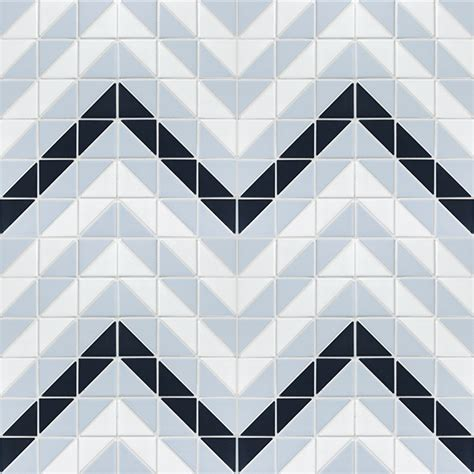 pattern geometric tile blue mountain chevron 2 triangle geometric floor tiles