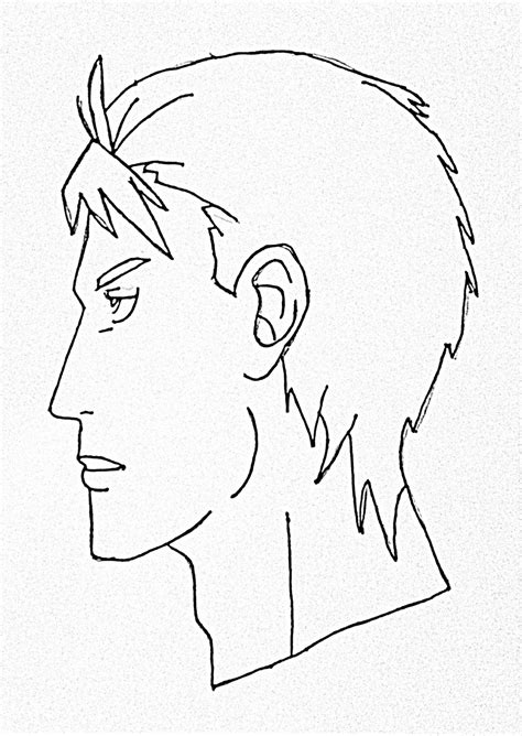 sketchbook pro tutorial beginners how to draw anime side view step by step for
