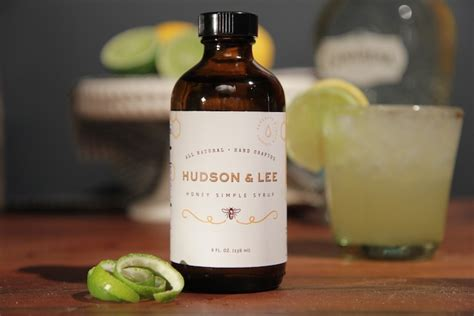 Simple Syrup Shelf by Hudson Honey Simple Syrup Beverage Dynamics